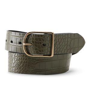 Croc Belt